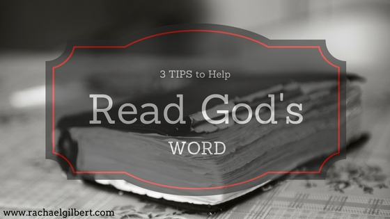 3 Tips to Help Read God's Word {Plus a Giveaway!}