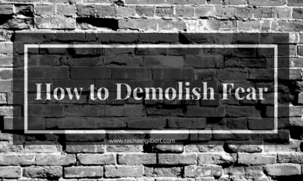 How to Demolish Fear {GIVEAWAY}