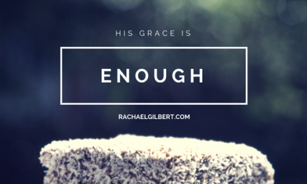 His Grace is Enough {Plus a GIVEAWAY}