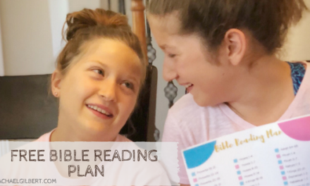 FREE Bible Reading Plan & Bible Giveaway!